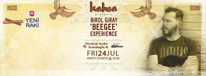 Birol Giray & Wisebeat Serdar Seremoglu at Kalua bar Mykonos