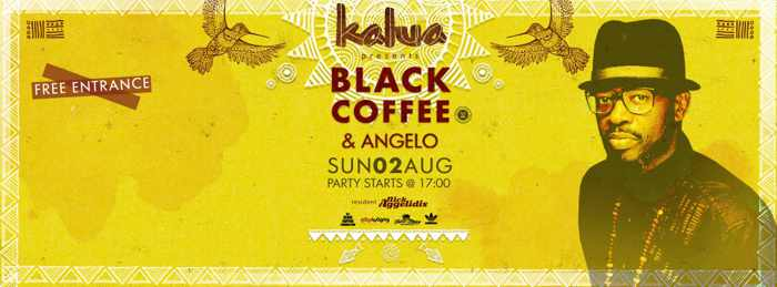 Black Coffee & Angelo at Kalua Mykonos