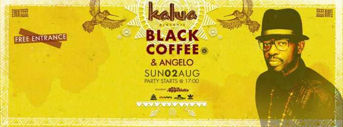 Black Coffee & Angelo at Kalua Mykonos