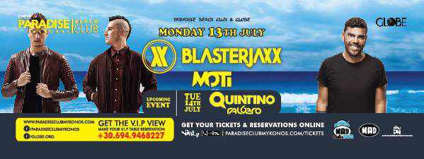 Blasterjaxx at Paradise Club
