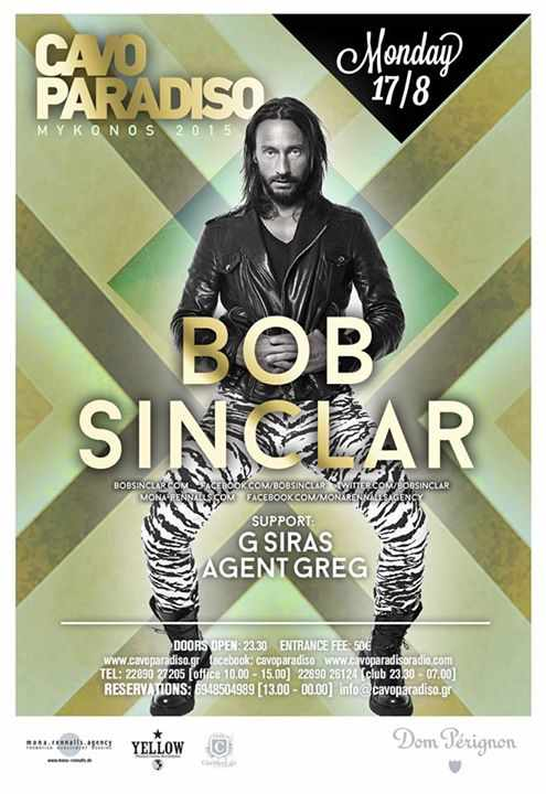 Bob Sinclar at Cavo Paradiso
