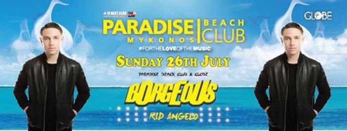 Borgeous and Kid Angelo at Paradise beach club