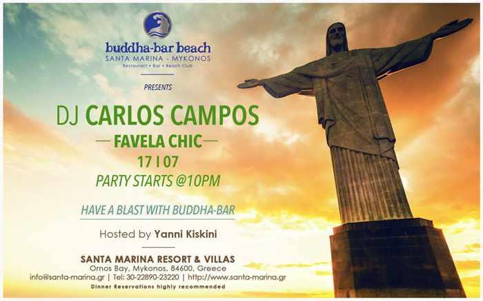 Buddha-Bar Beach Mykonos party July 17 2015