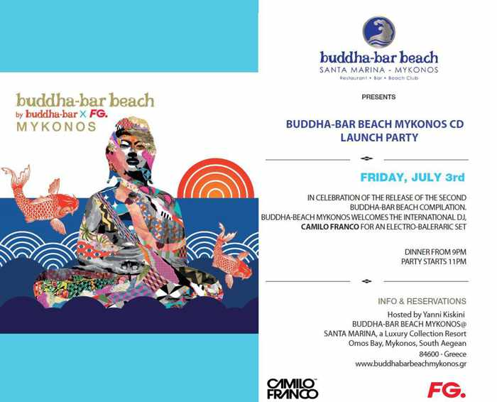 Buddha-Bar Beach club Mykonos CD launch party July 3 2015 02