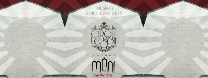 Cirque Le Soir at Moni nightclub Mykonos June 23 2015