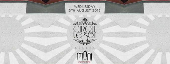 Cirque Le Soir from London at Moni nightclub Mykonos