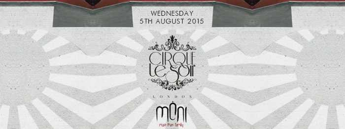 Cirque Le Soir from London at Moni nightclub Mykonos