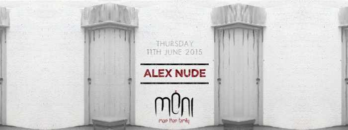 DJ Alex Nude appears at Moni nightclub Mykonos June 11 2015