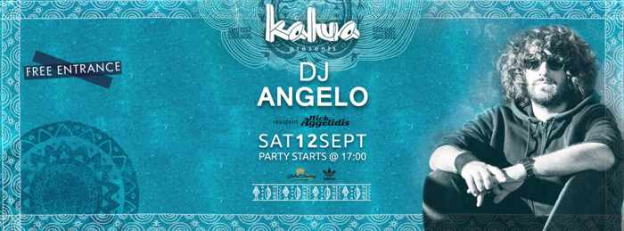 DJ Angelo at Kalua Mykonos