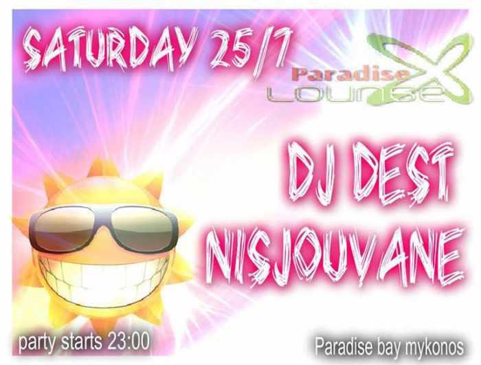 DJ Dest & DJ NisJouVane at Paradise Lounge