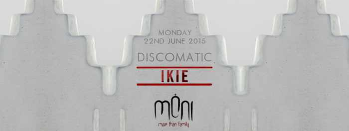 Discomatic featuring I-Kie at Moni nightclub Mykonos June 22 2015