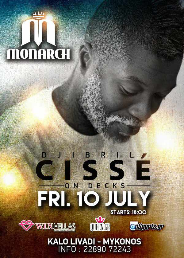 Djibril Cisse on decks at Monarch Beach Club July 10 2015