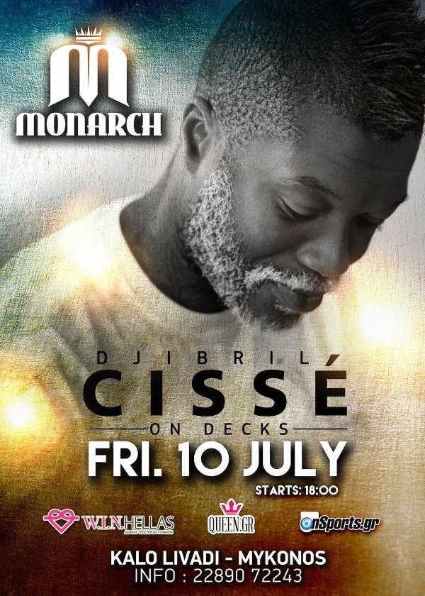 Djibril Cisse on decks at Monarch Beach Club July 10 2015
