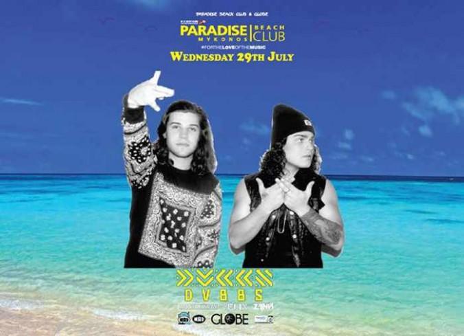 DVBBS at Paradise Beach Club