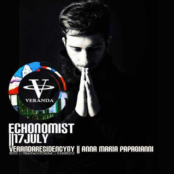 Echonomist at Veranda Bar Mykonos July 17 2015