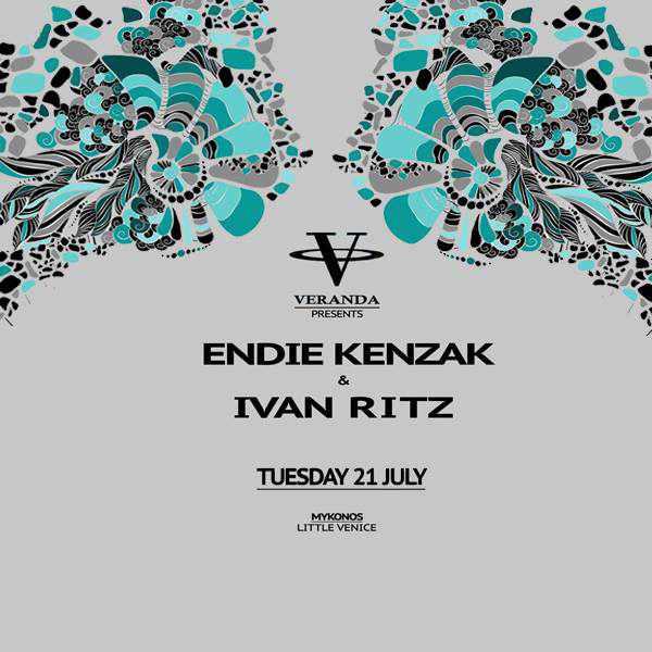 Endie Kenzak & Ivan Ritz at Veranda Bar