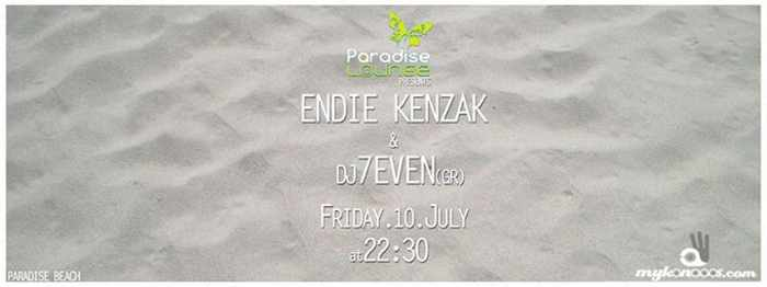 Endie Kenzak and DJ 7EVEN at Paradise Lounge