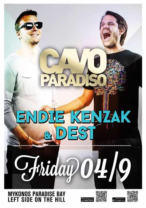 Endie Kenzak and Dest at Cavo Paradiso