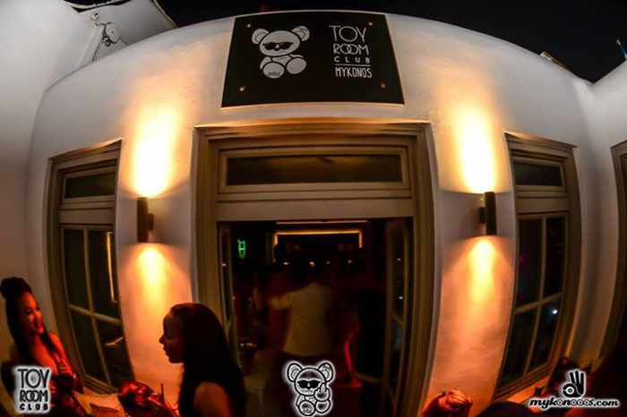 Exterior of Toy Room Club Mykonos seen in photo from club's Facebook page