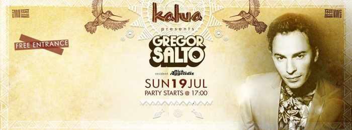 Gregor Salto at Kalua bar