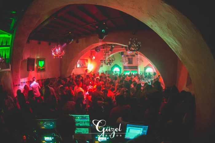 Guzel nightclub Mykonos photo from its Facebook page
