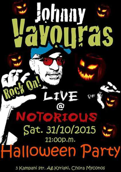 Halloween party at Notorious Bar Mykonos