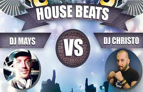 House Beats Party at Lakka by Fou Club Mykonos