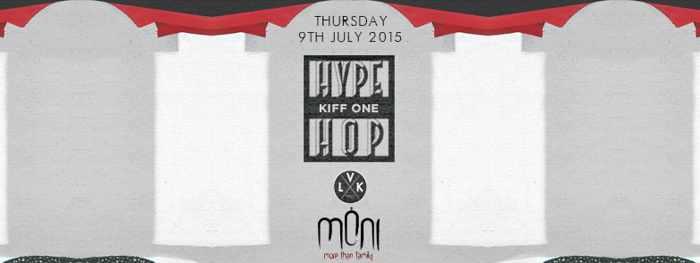 Hype Hop at Moni nightclub July 8 2015