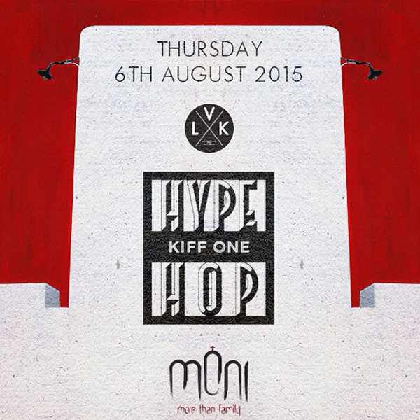 Hype Hop with Kiff One at Moni Mykonos
