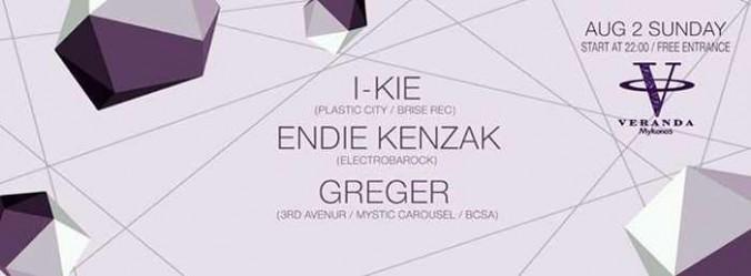 I-Kie, Endie Kenzak & Greger at Veranda Bar