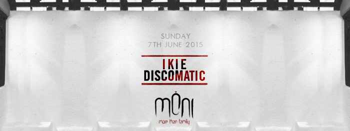 Ikie Discomatic appears at Moni nightclub Mykonos on June 7 2015