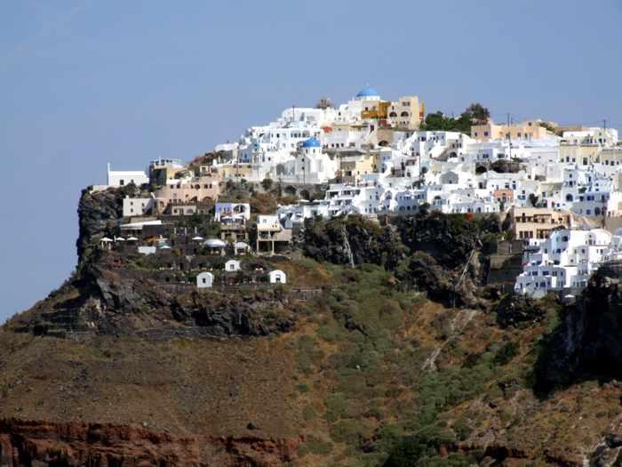 Imerovigli village