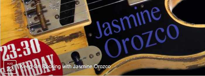 Jasmine Orozco at Notorious Bar Mykonos