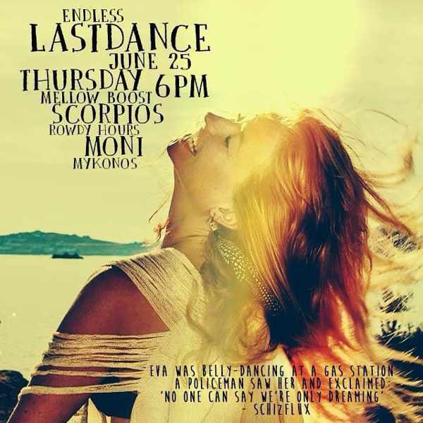 Endless Last Dance event at Moni nightclub Mykonos