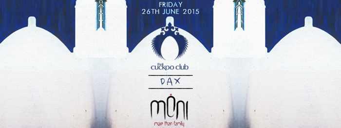 DJ DAX at Moni nightclub Mykonos June 26 2015