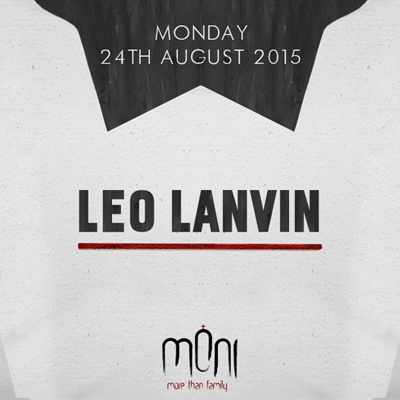 Leo Lanvin at Moni nightclub Mykonos