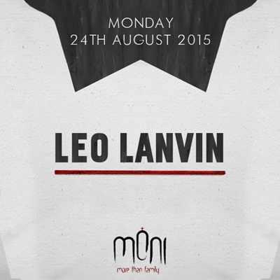Leo Lanvin at Moni nightclub Mykonos