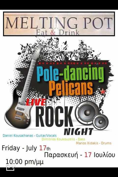 Live Rock Night at Melting Pot Mykonos