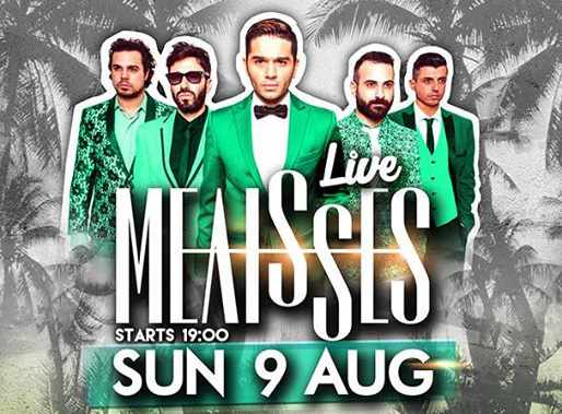 Melisses at Monarch beach club Mykonos August 9 2015