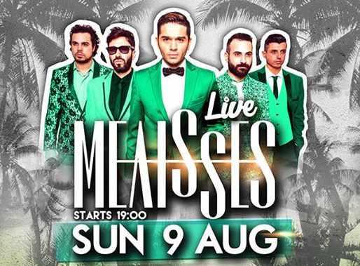 Melisses at Monarch beach club Mykonos August 9 2015