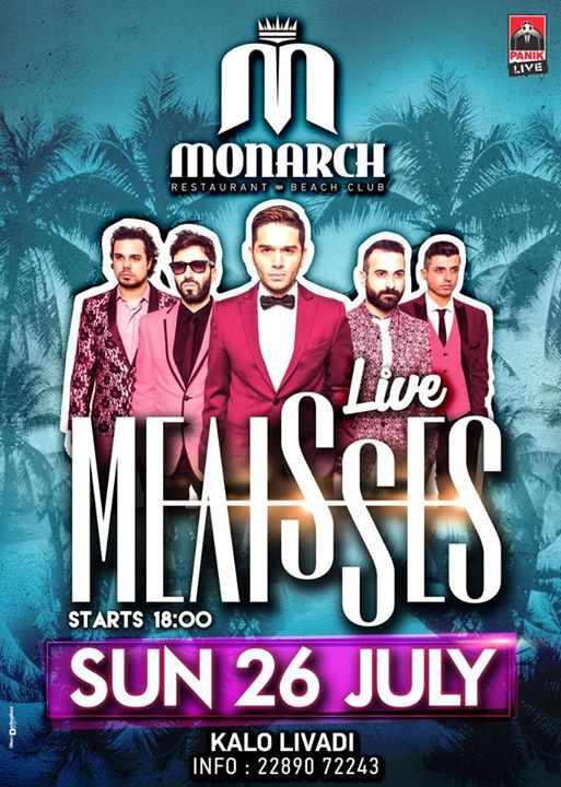 Melisses live at Monarch beach club