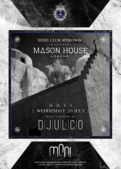 Moni Mykonos welcomes Mason House London