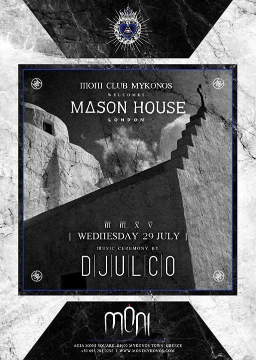 Moni Mykonos welcomes Mason House London