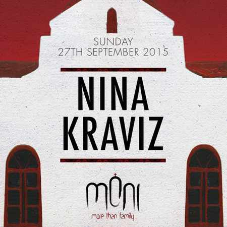 Moni club Mykonos closing party 2015 with Nina Kraviz