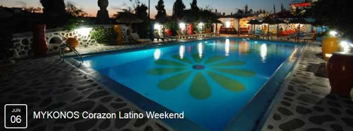 Mykonos Corazon Latino Weekend