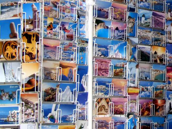 Mykonos postcards