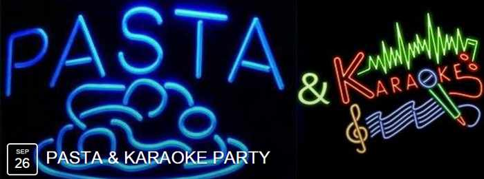Narghile Bar Mykonos Pasta & Karaoke Party