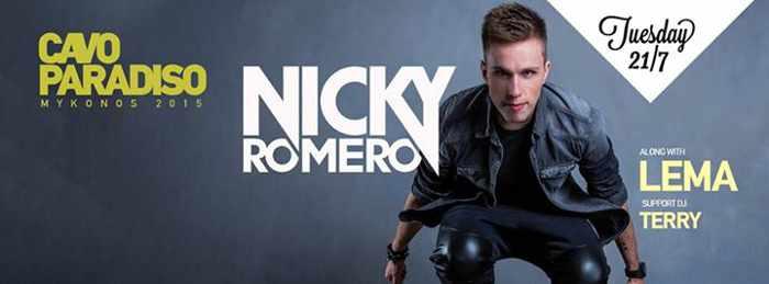 Nicky Romero at Cavo Paradiso
