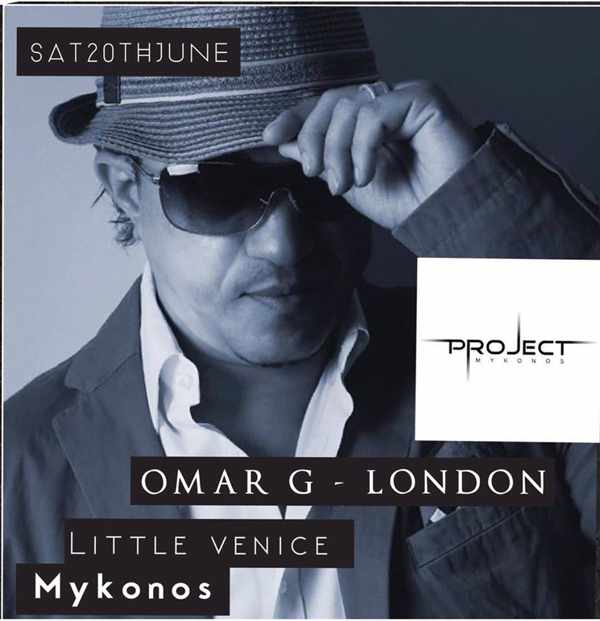 Omar G London appearance at Project Mykonos June 20 2015