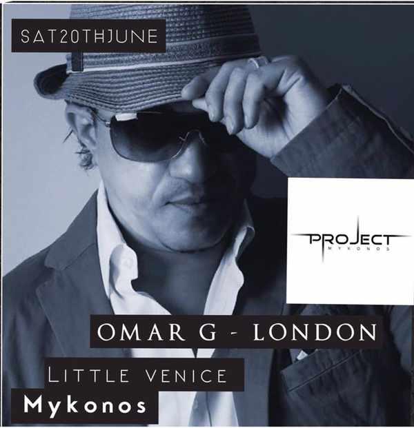Omar G London appearance at Project Mykonos June 20 2015